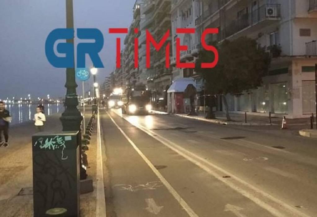 Θεσσαλονίκη: Εργασίες ασφαλτόστρωσης από σήμερα στη Λεωφόρο Νίκης
