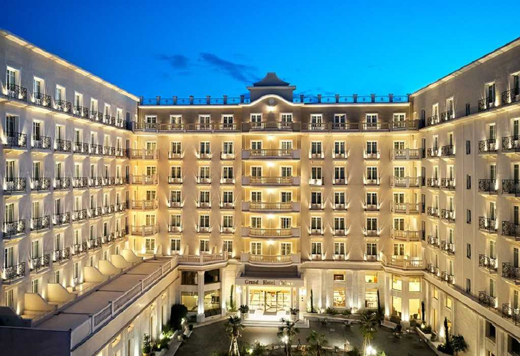 Grand Hotel Palace: Δύο χρυσά και ένα ασημένιο βραβείο φιλοξενίας στα Greek Hospitality Awards 2021