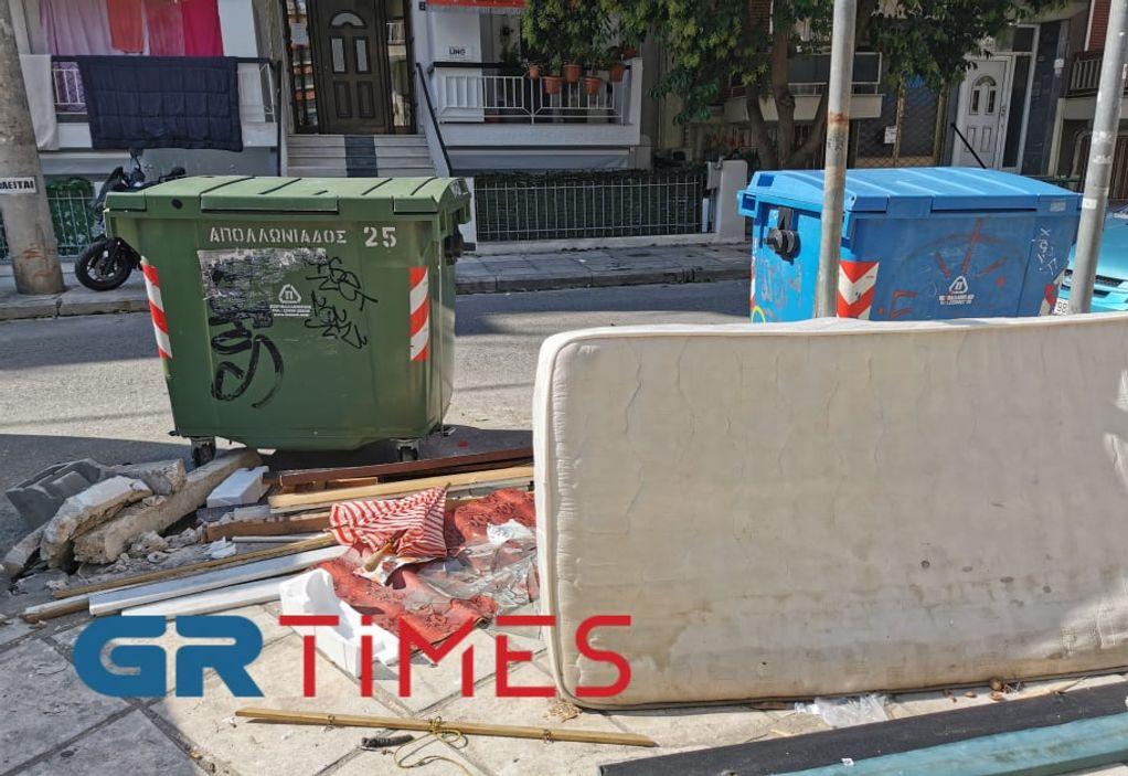 Δ. Θεσσαλονίκης: Χαμός με τα ογκώδη – Πόσοι τόνοι μαζεύονται καθημερινά (ΦΩΤΟ)