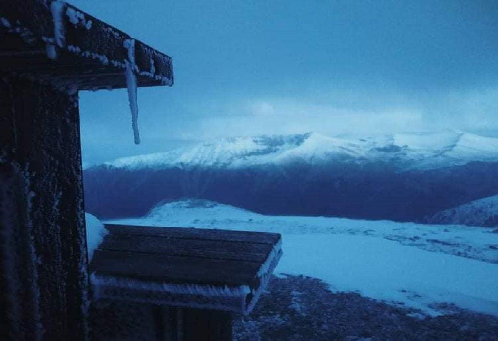 Εντυπωσιακές εικόνες από τον χιονισμένο Όλυμπο (ΦΩΤΟ-VIDEO)