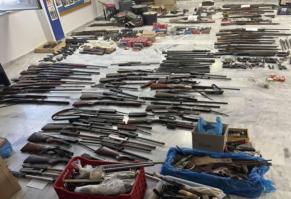 Κρήτη: Εξαρθρώθηκε εγκληματική οργάνωση εμπορίας όπλων στα Χανιά