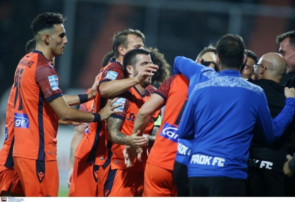 Superleague: Άνετο πέρασμα από το Ηράκλειο για τον ΠΑΟΚ με 1-3 επί του ΟΦΗ