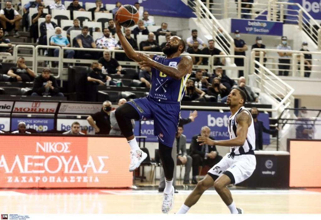 Basket League: Ήττα με 73-89 στην πρεμιέρα ο ΠΑΟΚ από το Λαύριο