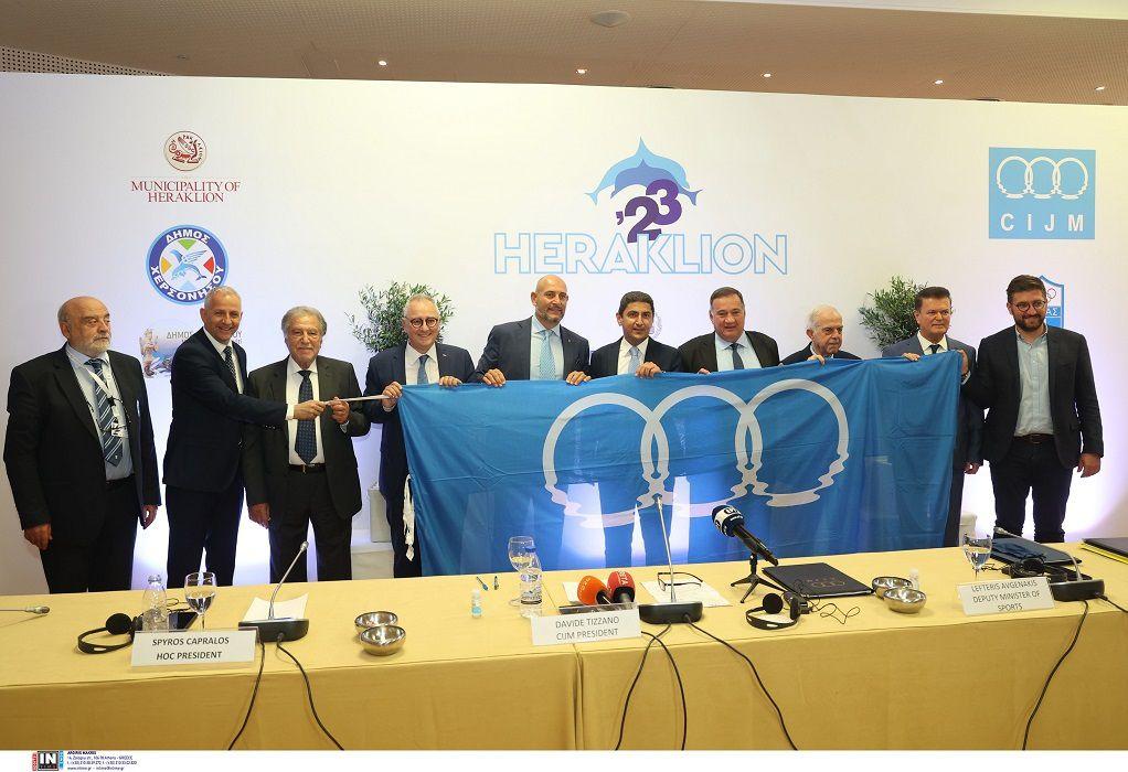 Υπογράφτηκε η Σύμβαση για τους Μεσογειακούς Παράκτιους Αγώνες στο Ηράκλειο το 2023