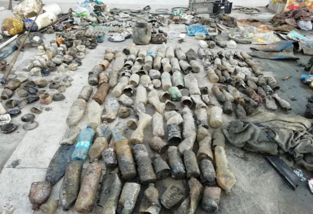 Πάρος: Αποκαρδιωτικές εικόνες μετά τον καθαρισμό του βυθού – Γέμισε σκουπίδια η ακτή (ΦΩΤΟ)