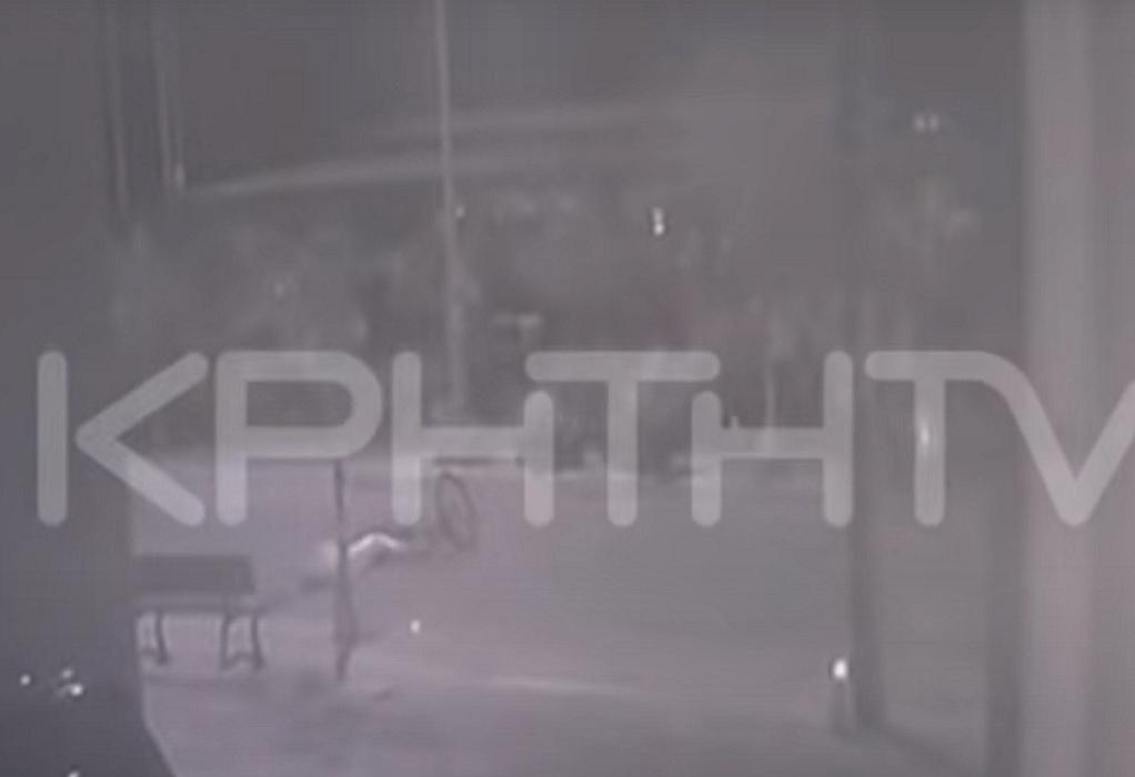 Κρήτη: Αυτοκίνητο παρέσυρε ποδηλάτισσα και την εγκατέλειψε-Εντοπίστηκε ο οδηγός (VIDEO)