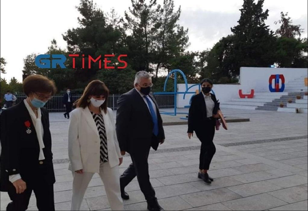 Θεσσαλονίκη: Στο Τελλόγλειο Ίδρυμα η Πρόεδρος της Δημοκρατίας (ΦΩΤΟ-VIDEO)