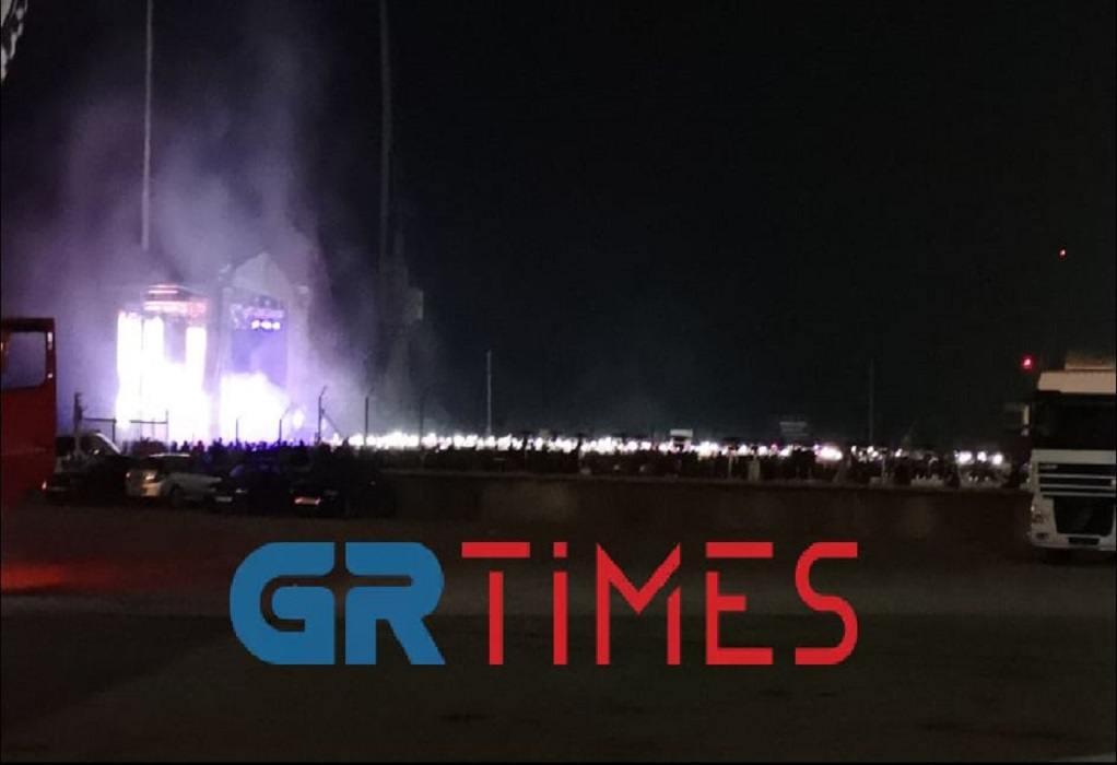 Θεσσαλονίκη: Το αδιαχώρητο σε φεστιβάλ στο Λιμάνι (ΦΩΤΟ – VIDEO)