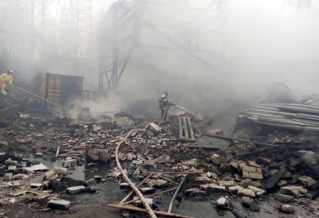 Ρωσία: 17 νεκροί από ισχυρή έκρηξη σε ρωσικό εργοστάσιο χημικών προϊόντων (VIDEO)