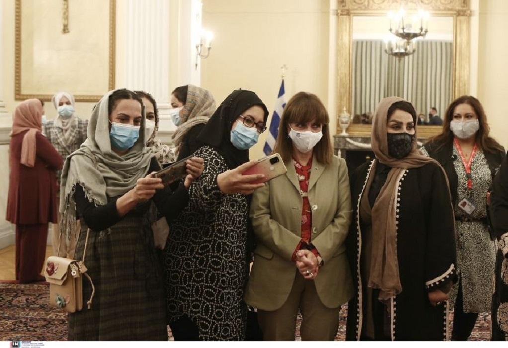 ΠτΔ: Στήριξη της Ελλάδος στην διεθνή προσπάθεια προστασίας των γυναικών του Αφγανιστάν