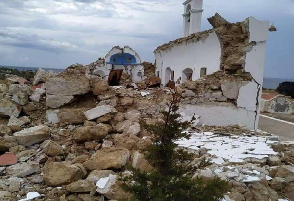 Σεισμός στην Κρήτη: Πανικός από τα 6,3 Ρίχτερ – Ζημιές και κατολισθήσεις (VIDEO)