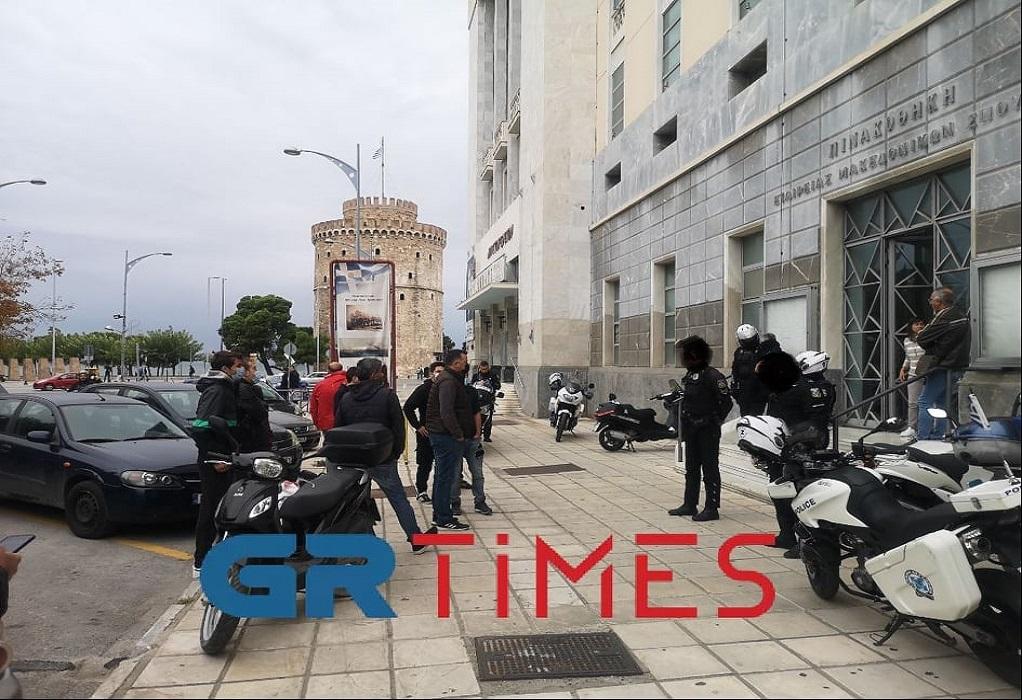 Θεσσαλονίκη: Παρέμβαση φοιτητών και εργαζομένων στην TV100 (VIDEO)