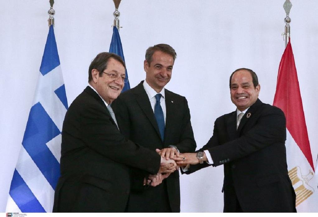 Τι λέει η Κοινή Διακήρυξη της 9ης Τριμερούς Ελλάδος-Κύπρου-Αιγύπτου