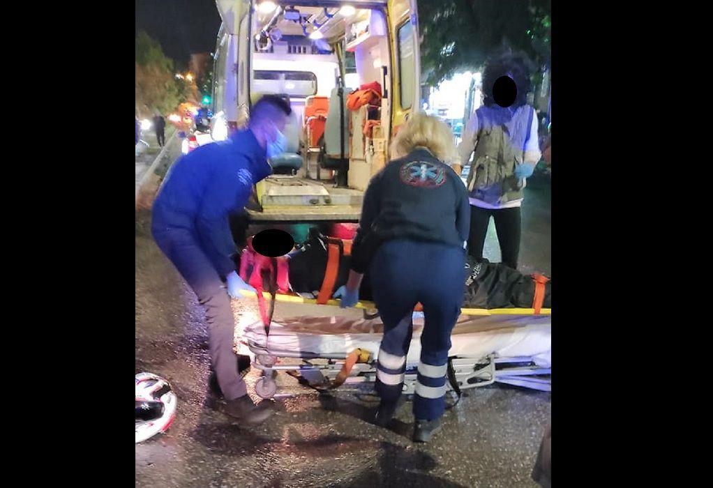 Θεσσαλονίκη: Χτύπησε δίκυκλο και εγκατέλειψε αιμόφυρτο τον οδηγό του (ΦΩΤΟ)