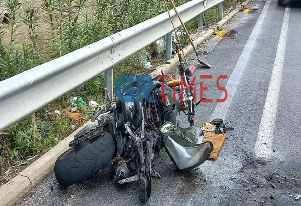 Νεκρός 55χρονος σε τροχαίο με μοτοσυκλέτα στον Προμαχώνα Σερρών