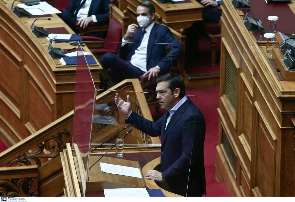 Βουλή: Η ώρα του πρωθυπουργού: LIVE η «σύγκρουση» Μητσοτάκη – Τσίπρα για την πανδημία