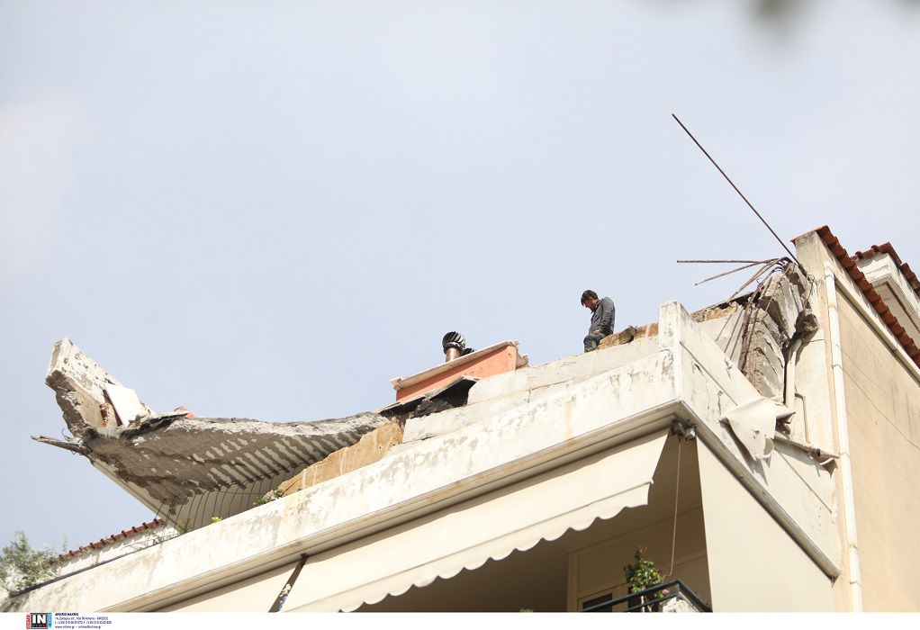 Δ. Χαλανδρίου: Εξασφάλισε στέγη στις οικογένειες της πολυκατοικίας που κατέρρευσε το μπαλκόνι