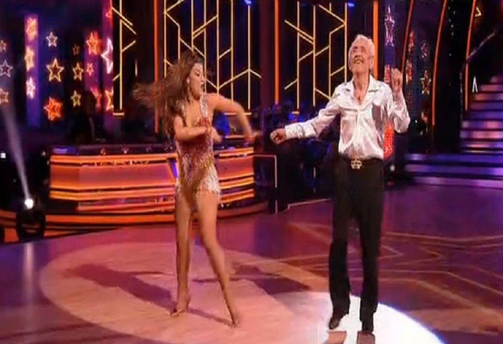 DWTS: Ο Τάσος Παλαντζίδης χόρεψε «sex bomb» και αποθεώθηκε (VIDEO)