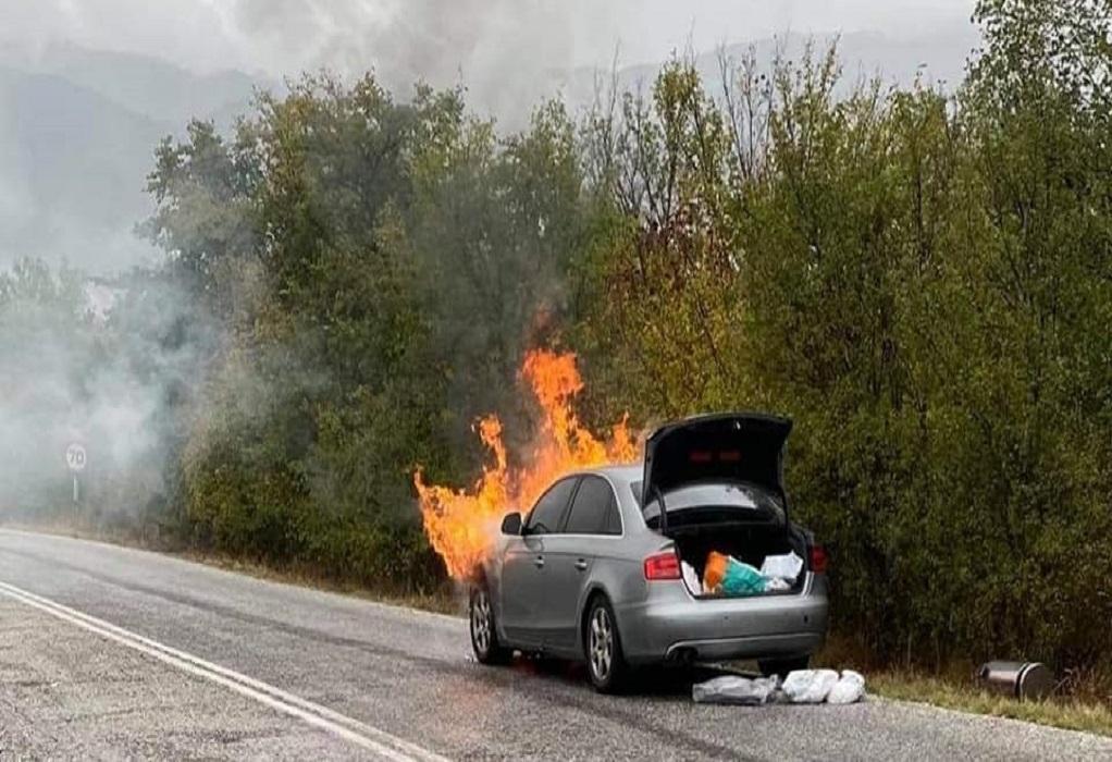 Φωτιά στο αυτοκίνητο του Π. Ψωμιάδη: «Δεν είχα φρένα, ούτε τον έλεγχο»
