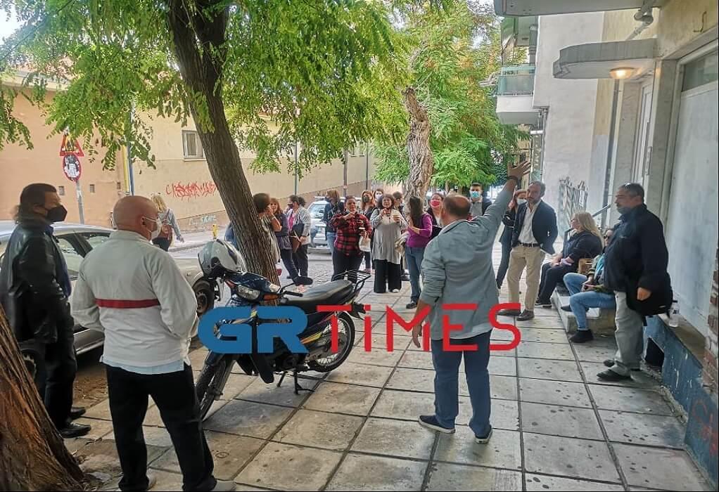 """Αποχή για 2η μέρα στο 6ο Γυμνάσιο Θεσσαλονίκης ενάντια στο """"στοίβαγμα"""" (VIDEO)"""